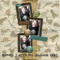 Prehistoric kit by Clever Monkey Graphics I can see myself using this kit a lot. Prehistoric, Layout Design, Digital Scrapbooking, Monkey, Stuff To Do, My Photos, Clever, About Me Blog, Graphics