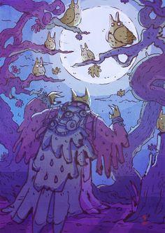 Seeking the Owls! Support DrawMonsterDraw at Patreon!