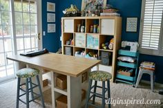 Craft Room Storage Ideas and DIY Solutions - DIY Inspired