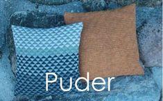 Puder Throw Pillows, Ceramics, Design, Threading, Cushions, Decorative Pillows, Ceramic Art, Clay Crafts