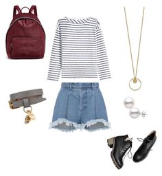 """""""Outfit with shorts 😍"""" by carorj6708 on Polyvore featuring Ksenia Schnaider, rag & bone, STELLA McCARTNEY y Alexander McQueen"""