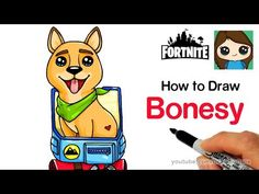 How To Draw Fortnite Unicorn Easy W Rainbow And Clouds Art In 2019