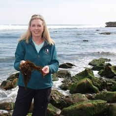 """""""Ocean Voices"""" interview with Beth Shady on how she's using seaweed to create art and awareness"""