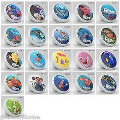 Nursery Disney Finding The Nemo Ceramic Knob Pull Pantry Closet Drawer  Wardrobe