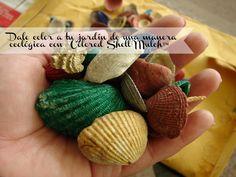 Dale color a tu jardín de una manera ecológica con @Colored Shell Mulch™ | Reseña #Ad
