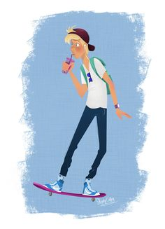 Skater Dude!... #art #characterdesign #illustration