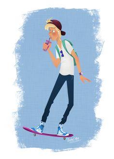 Skater Dude!... #art #characterdesign #illustration