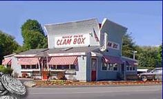 Clam Box of Ipswich MA, North of Boston Restaurant, Fried Clams 246 High St Ipswich, MA 01938 Fried Clams, Fried Lobster, Ipswich Massachusetts, Places Ive Been, Places To Go, Boston Restaurants, Travel Usa, New England