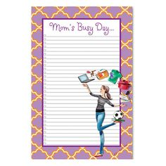 For busy moms