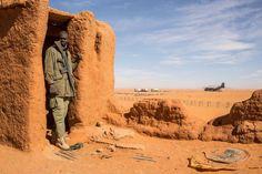 ماداما الفرنسية .. استعدادات EN IMAGES. Madama, nouvelle base stratégique française au Niger