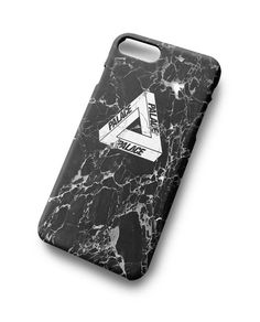 Palace Skateboard Marble Hot Black For iPhone 7 7 Plus