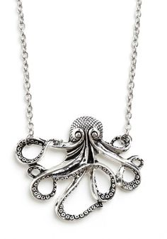 My Pet Octopus Necklace, #ModCloth