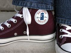 Buying that iron on! #DoctorWho #Converse