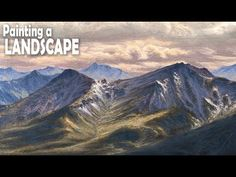 How to Paint a Landscape: Step 3 - The Background