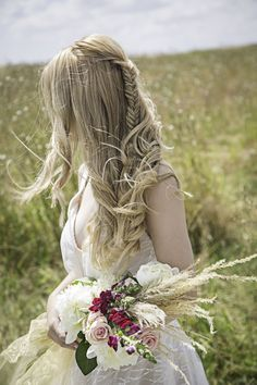 A 'Rustic Bridal Succulent' shoot in Wiltshire Bridal Hairstyles With Braids, Bridal Braids, Pretty Hairstyles, Wedding Hairstyles, Wedding Shoot, Wedding Day, Wedding Dresses, Bridal Hair Inspiration, Princess Aesthetic