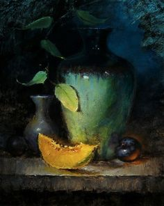 http://larryclingman.com/Larry_Clingman-Artist/Teal_Vase_with_Canteloupe_and_Plum_files/TealVaseWithCanteloupeAndPlumss.jpg