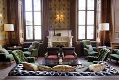 Set in Palazzo Corpi, in the heart of the Beyoğlu district, Soho House Istanbul is a place for members to relax, eat, drink and meet. Soho House Istanbul, Soho House London, Soho House Hotel, London Eye, Palazzo, Soho Style, Hotel Interiors, Living Room With Fireplace, Living Room Ideas