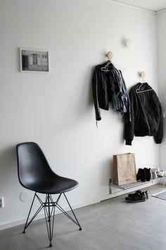Masculine! muuto, leather & black eames -j Levau blog