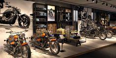 Shop Concept - Shopfitting Concept - Motorcycle Yamaha. Shop Konzept - Ladenkonzept Yamaha Motorräder