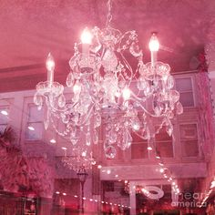 Crystal Chandelier Photograph Romantic Pink Sparkling Chandelier Photo Dreamy Pink Chandelier Print Shabby Chic Decor Chandelier Photos USD) by KathyFornal Bedroom Wall Collage, Photo Wall Collage, Picture Wall, Pink Glitter Wallpaper, Pink Chandelier, Baby Pink Aesthetic, Pink Photo, Pink Room, Pink Wall Art