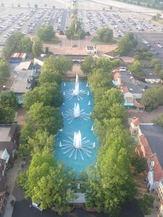 Kings Dominion was like that!