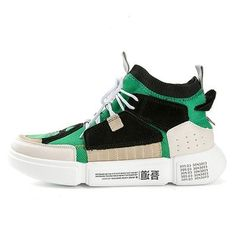 365bfbd8e ADBOOV Brand Retro High Top Sneakers Men Mixed Colors Designer Shoes Men S  Casual Shoes Fashion Sock Skateboarding Shoes