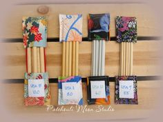 Patchouli Moon Studio~Double Pointed Knitting Needle Holders