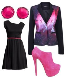Celestial Pink Celestial, Polyvore, Pink, Image, Fashion, Moda, Fashion Styles, Fasion, Roses
