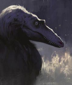 Slender tyrant by Dinomaniac.deviantart.com on @DeviantArt