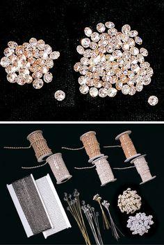 Wholesale loose rhinestones, including flat back rhinestones, heat seal rhinestones and pointed back loose rhinestones.