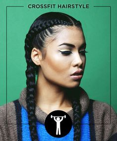 Style your hair in these goddess braids as an homage to late 90s cornrows