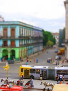 Tilt-Shift Cuba City Scene by egypt-rai on DeviantArt