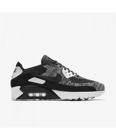 finest selection 650f0 c5e43 Nike Air Max 90 Ultra 2.0 Flyknit Grey Black Mens Trainers Air Max 90  Premium,