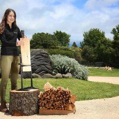 Brændekløver -verdens sikreste! Køb en Kindling Cracker Crackers, Firewood, New Zealand, Pretzels, Woodburning, Biscuit