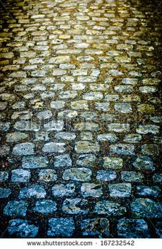 Grey Tiles Give A Harmonic Pattern At The Ground Stockfoto: 124683223 : Shutterstock