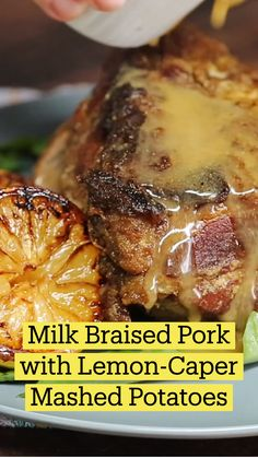 Pork Recipes, Cooking Recipes, Good Food, Yummy Food, Tasty, Braised Pork, Le Diner, Pork Dishes, Food To Make