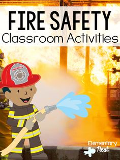 Find wonderful fire safety activities for primary classrooms including flip books, mini lessons, read alouds, and a freebie anchor chart to use! Social Studies Activities, Hands On Activities, Science Activities, Classroom Activities, Classroom Ideas, Preschool Ideas, Preschool Boards, Toddler Activities, Fire Safety For Kids