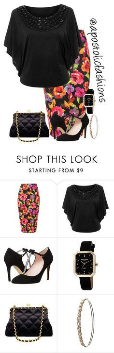 """""""Apostolic Fashions #1467"""" by apostolicfashions on Polyvore featuring Jane Norman, Kate Spade, Akribos XXIV, Chanel and Charlotte Russe"""