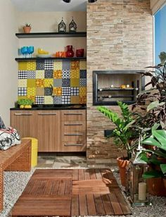Outdoors in colors Cafe Interior, Interior And Exterior, Murs Violets, Sweet Home, Apartment Balconies, Interior Decorating, Interior Design, Small Apartments, Cozy House