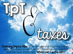 Taxes and TPT: What you need to know for this coming tax season, including write offs!