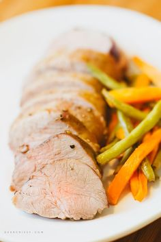 Perfect Marinated Pork Tenderloin - This is a lovely recipe that would be perfect for a holiday dinner, tender and delicious.