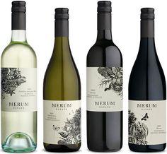 """Conçu par l'agence de design graphique australienne Manifesto Design, ce concept de packaging est appliqué à différents vins de la marque Merum, qui signifie littéralement """"pur et sans mélange"""" en …"""