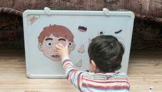 Educación Preescolar - Jugando con las partes de la cara
