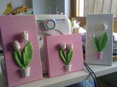 telas tulipas de tecido