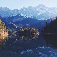 Island Life. #munichandthemountains Island Life, Alps, Switzerland, Mountains, Nature, Instagram Posts, Travel, Inspiration, Voyage