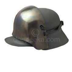 German Helmet Front Plate
