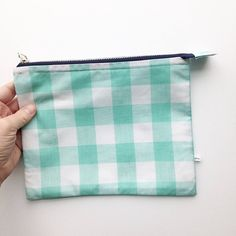 Merci bag gingham zipper pouch french word bag gingham bag large gift this instead of the typical easter basket fill with candy a book gift cards or a new set of colored pencils negle Gallery