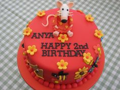 maisy birthday cake
