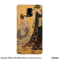 Japanese Ukiyo-e Woodblock Print Series One Galaxy Note 4 Case
