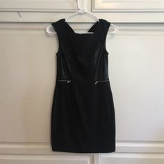 Little Black Dress Everyone Loves a Simple Black Dress ... I love this dress just can't fit into it any more! Super comfortable, slim fit, very flattering ... Silver zippers ! Dresses Mini